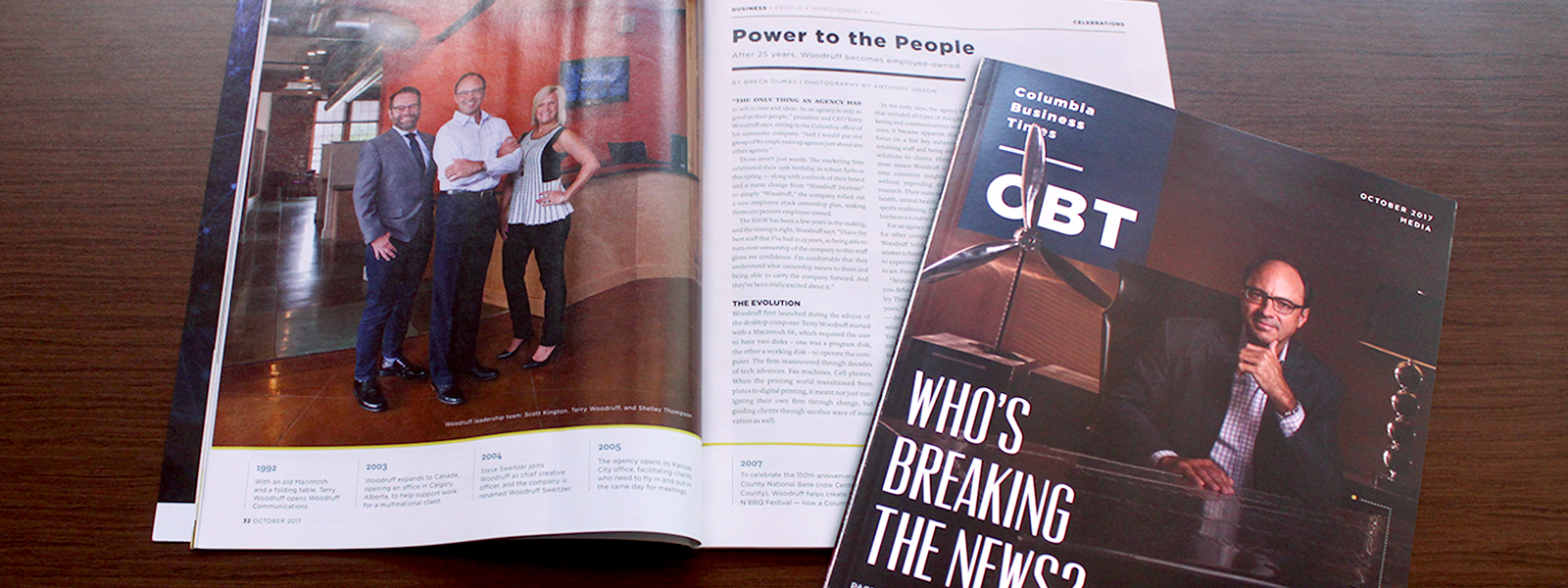 CBT Magazine Article