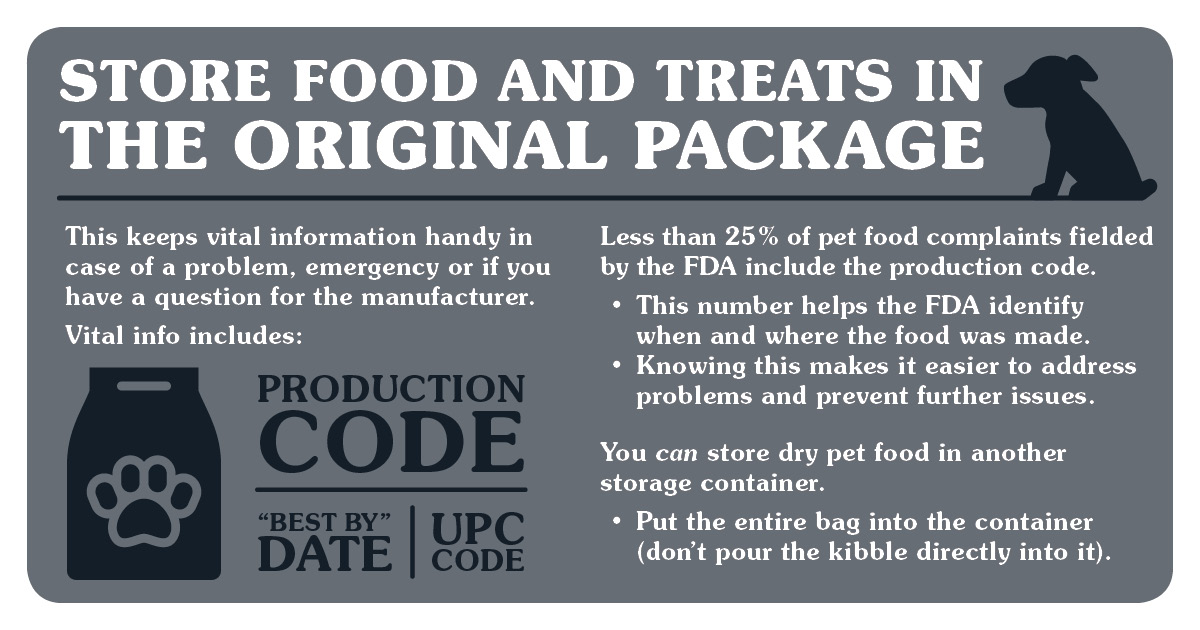Food Storage Infographic; an example of a proactive tool used in issues management
